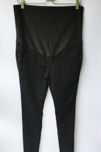 Spodnie Rurki Tregginsy Granatowe H&M Mama XL 42...