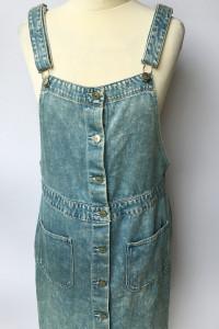 Sukienka Dzinsowa H&M XL 42 Jeansowa Dzins Jeans...