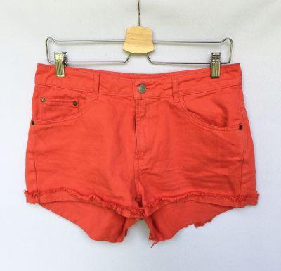 Spodenki Spodenki Krótkie Czerwone Bik Bok M 38 Dzinsowe Jeansowe