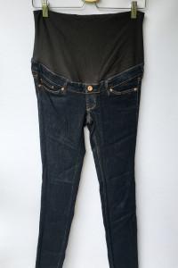 Spodnie Ciążowe H&M Mama Slim S 36 Dzinsowe Rurki...