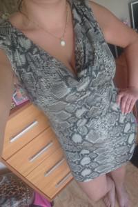 Wężowa sukieneczka