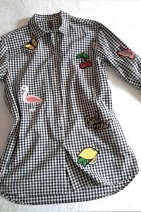 Koszula z aplikacjami H&M L