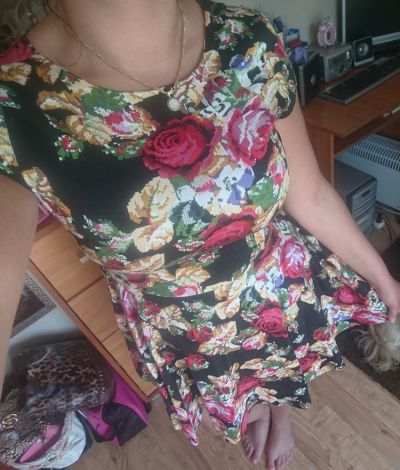 Suknie i sukienki Sukienka kwiaty