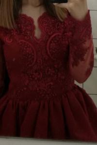 piękna balowa sukienka...