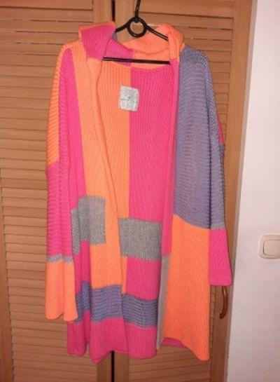Swetry Nowy neonowy kardigan Paula Yascoolski