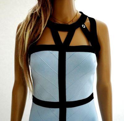 Suknie i sukienki Mangano nowa oryg sukienka ołówkowa bandażowa