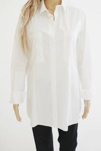 Emma&Gaia nowa oryg koszula biała kieszenie...