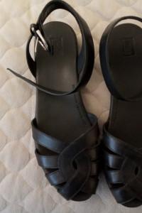 sandały czarne nowe fitflop...
