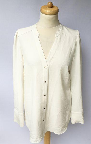 Bluzki Bluzka Elegancka H&M 46 3XL Biała Wizytowa Do Pracy