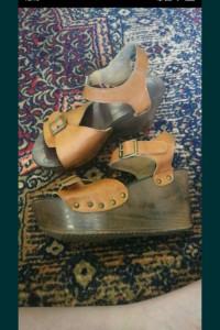 Buty letnie sandały koturn TANIO