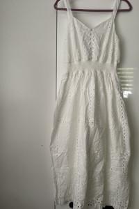 Biała sukienka nowa S M