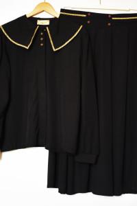 LINDEX Kostium Bluza ze spódnicą wiskoza XXL elegancka