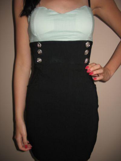 Suknie i sukienki Marynarska sukienka na lato Tally Weijl XS 34