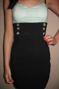 Marynarska sukienka na lato Tally Weijl XS 34...