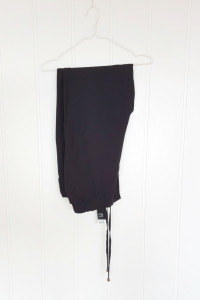 Nowe spodnie alladynki Esmara 44 XXL czarne haremki luźne na la...