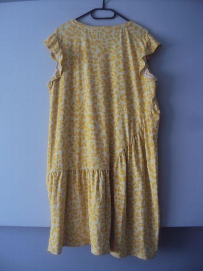 Suknie i sukienki dzianinowa sukienka w ciapki