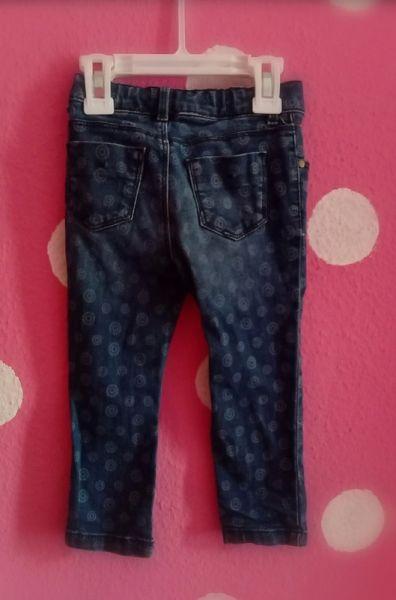 Spodnie i spodenki Spodnie jeansowe dziewczęce tommy hilfiger 2t 2lata