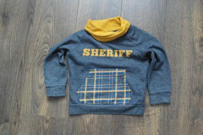 Bluzy Bluza grafit sheriff 110