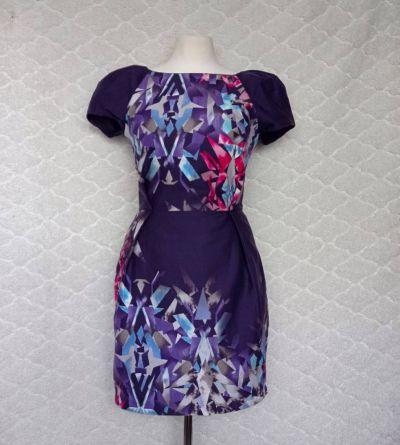 Suknie i sukienki Sukienka w geometryczne wzory