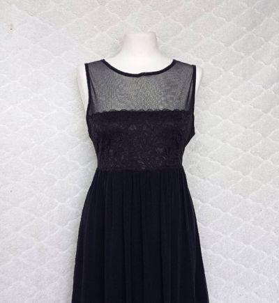 Suknie i sukienki Czarna wizytowa sukienka