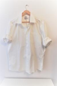 Biała koszula oversize w męskim stylu must have...