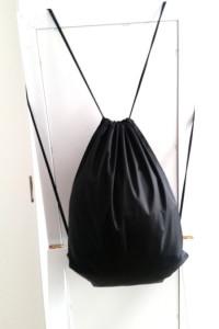 Czarny plecak worek must have
