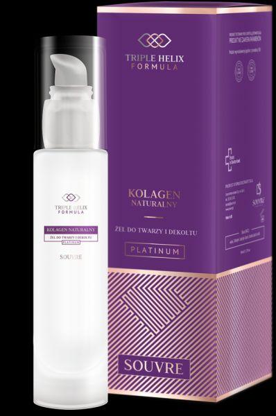 Włosy Kolagen Graphite żel kolagenowy 50 ml NOWY Souvre