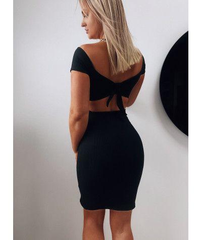 Suknie i sukienki Sexi Sukienka Z Wycięciami