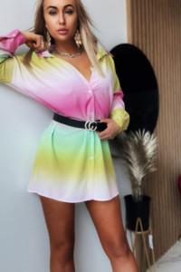Sukienka Ombre Yellow...