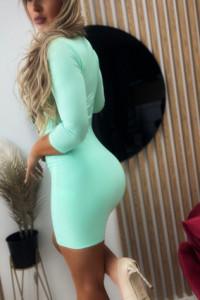 Dopasowana Sukienka Green...