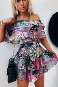 Sukienka Hiszpanka Multicolor...