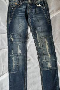 spodnie S rurki Denim Monday...