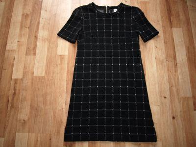 Suknie i sukienki Czarna HM rozm S M