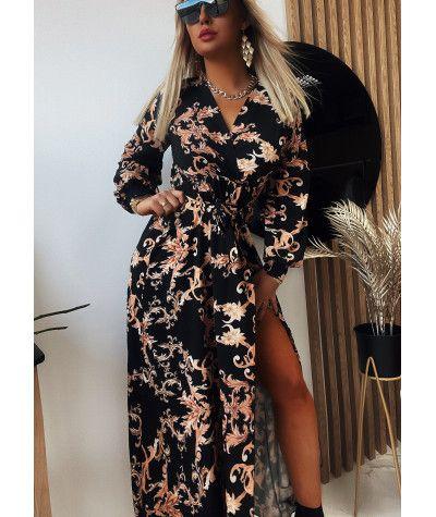 Suknie i sukienki Sukienka Verssace Black