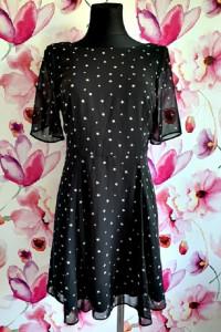 new look sukienka modny wzór gwiazdy gwiazdeczki hit 36...