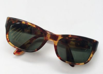 Okulary Okulary Ray Ban B&L Panterka Cętki Oryginalne Damskie Prostokątne