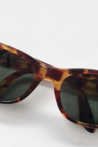 Okulary Ray Ban B&L Panterka Cętki Oryginalne Damskie Prostokątne