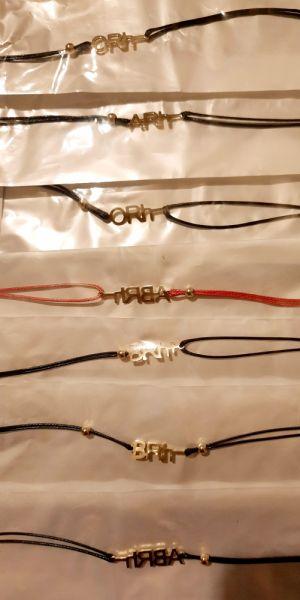 Bransoletki Bransoletka grupa krwi kolor złoty sznurek czerwony czarny stal chirurgiczna 316L Xuping