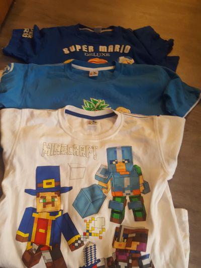 Koszulki, podkoszulki Zestaw 3 koszulek