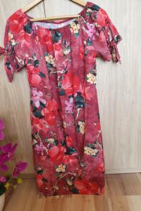 Sukienka 38 M kwiaty letnia jak nowa...