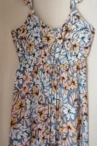 Długa sukienka z wiskozy NEW LOOK 40...