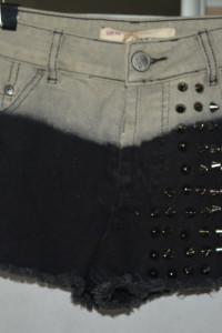 3 Jeansowe spodenki z nitami Glamorous 38...