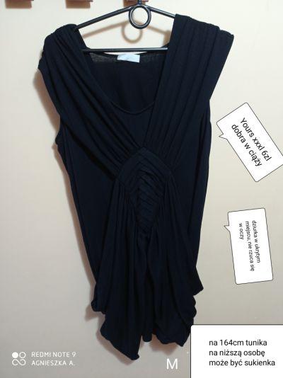 Tuniki Tunika xxxl tuszująca dobra w ciąży sukienka na niską osobę