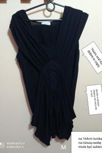 Tunika xxxl tuszująca dobra w ciąży sukienka na niską osobę