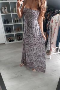 Angel Women długa piękna sukienka na lato rozmiar s m...