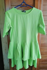 Limonkowa sukienka