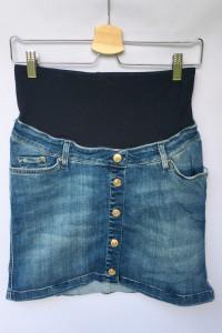 Spódniczka H&M Mama Dzinsowa Ciążowa Jeansowa S 36...