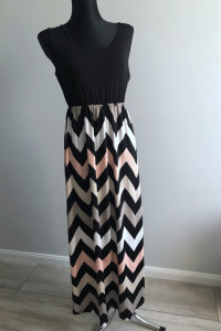 Długa letnia sukienka maxi rozmiar UNI...