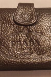 Portfel Prada vintage skóra...