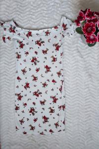 Sukienka letnia zwiewna w kwiaty